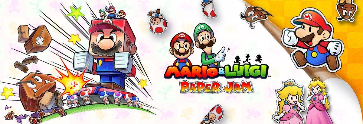 Mario Luigi Paper Jam Release Date Play Nintendo