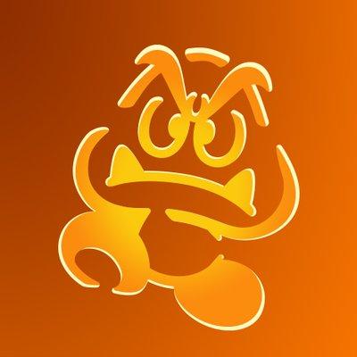 Goomba Printable Pumpkin Carving Stencil Play Nintendo