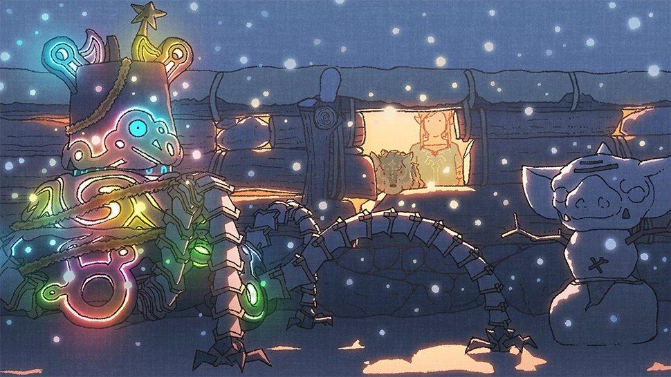 The Legend Of Zelda Wallpaper An Epic Snow Scene Play Nintendo