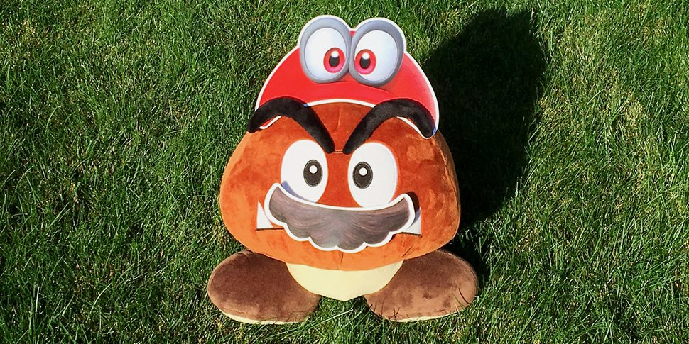 Printable Cappy Mustache Super Mario Odyssey Play Nintendo