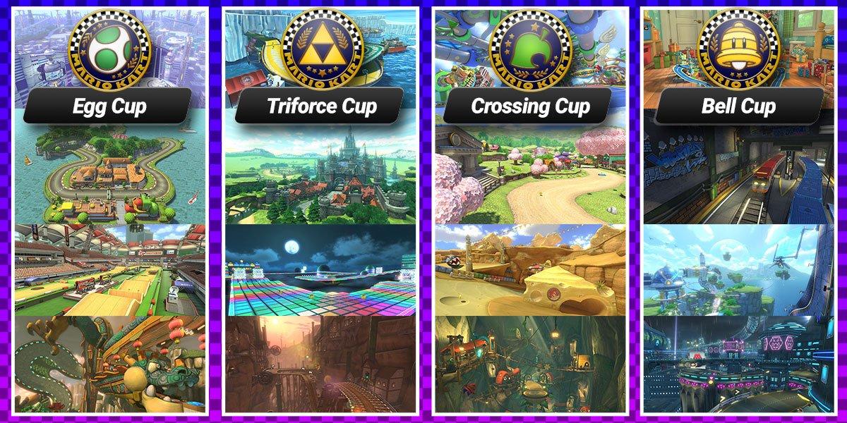 Mario Kart 8 Deluxe Favorite Cup Poll Play Nintendo