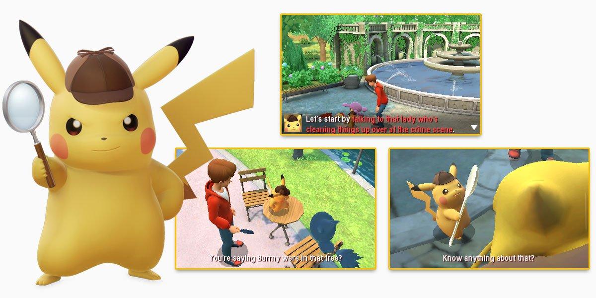 Detective Pikachu Game Tips Tricks Play Nintendo
