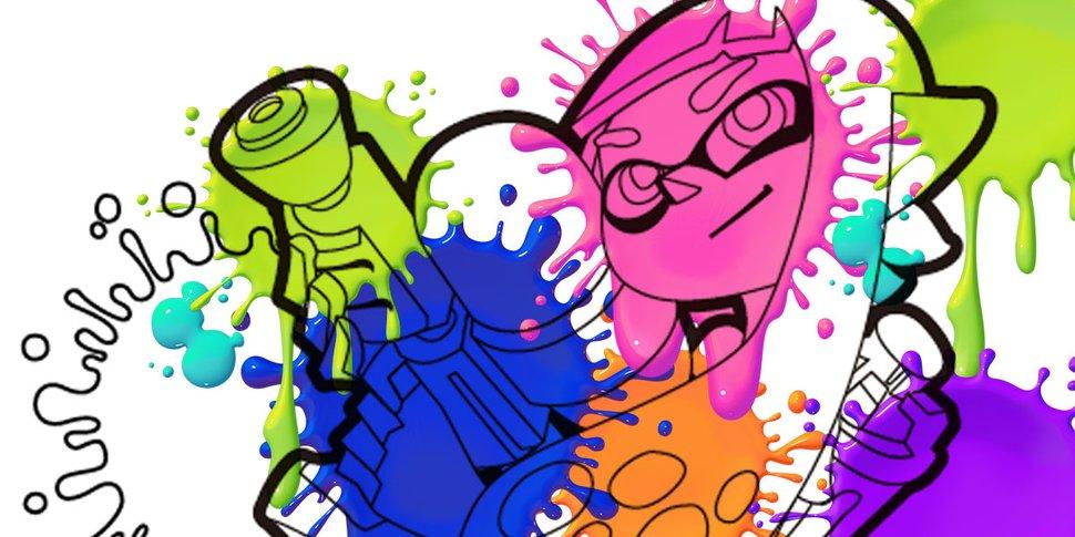 Splatoon Printable Coloring Pages Play Nintendo