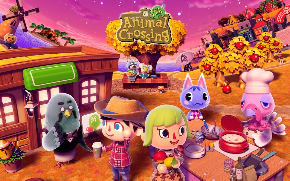 Animal Crossing Wallpaper Play Nintendo