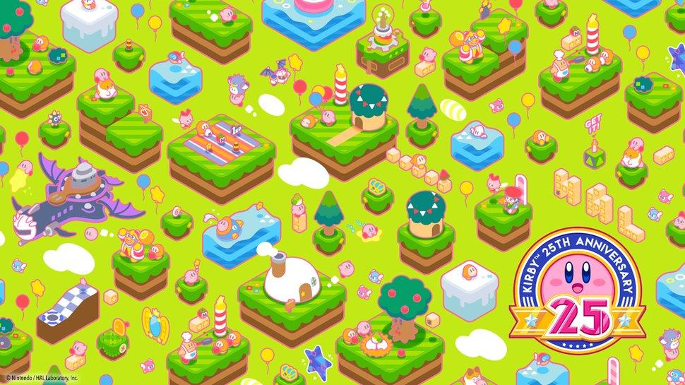 Kirby Anniversary Desktop Mobile Wallpaper Download Play Nintendo