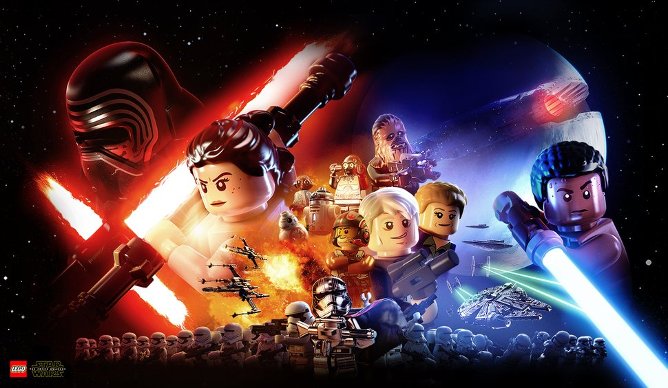 Lego Star Wars The Force Awakens Wallpaper Play Nintendo