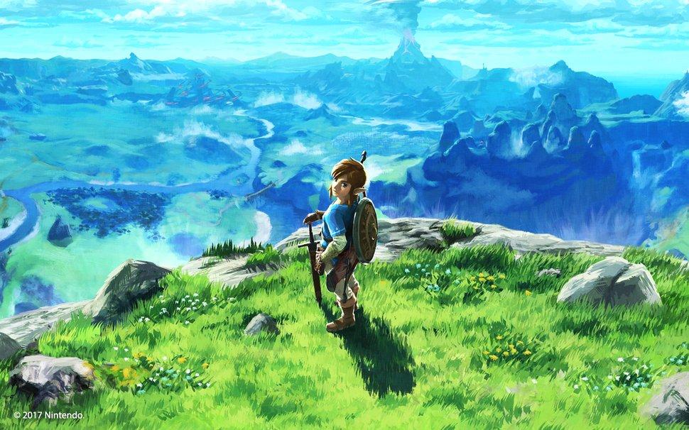 Legend Of Zelda Breath Of The Wild Desktop Background Wallpaper Play Nintendo