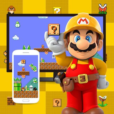 Super Mario Maker Desktop Background Wallpaper Play Nintendo