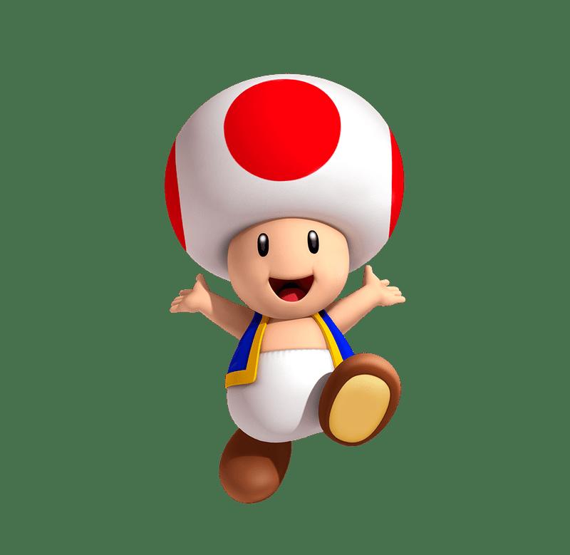 Toad Play Nintendo