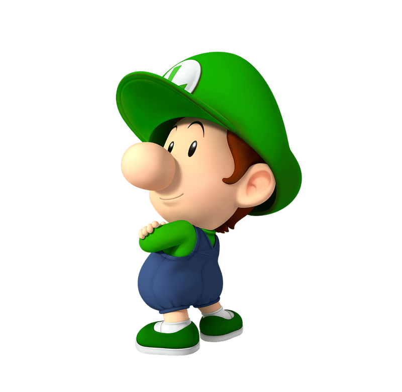 Baby Luigi Play Nintendo