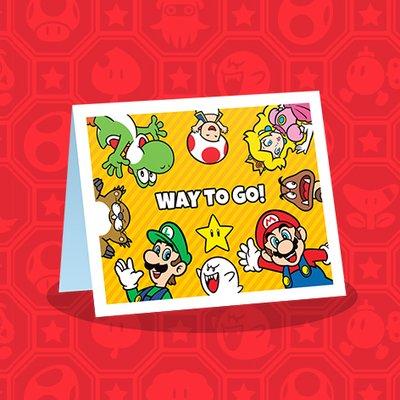 Custom Nintendo Greeting Card Creator Play Nintendo