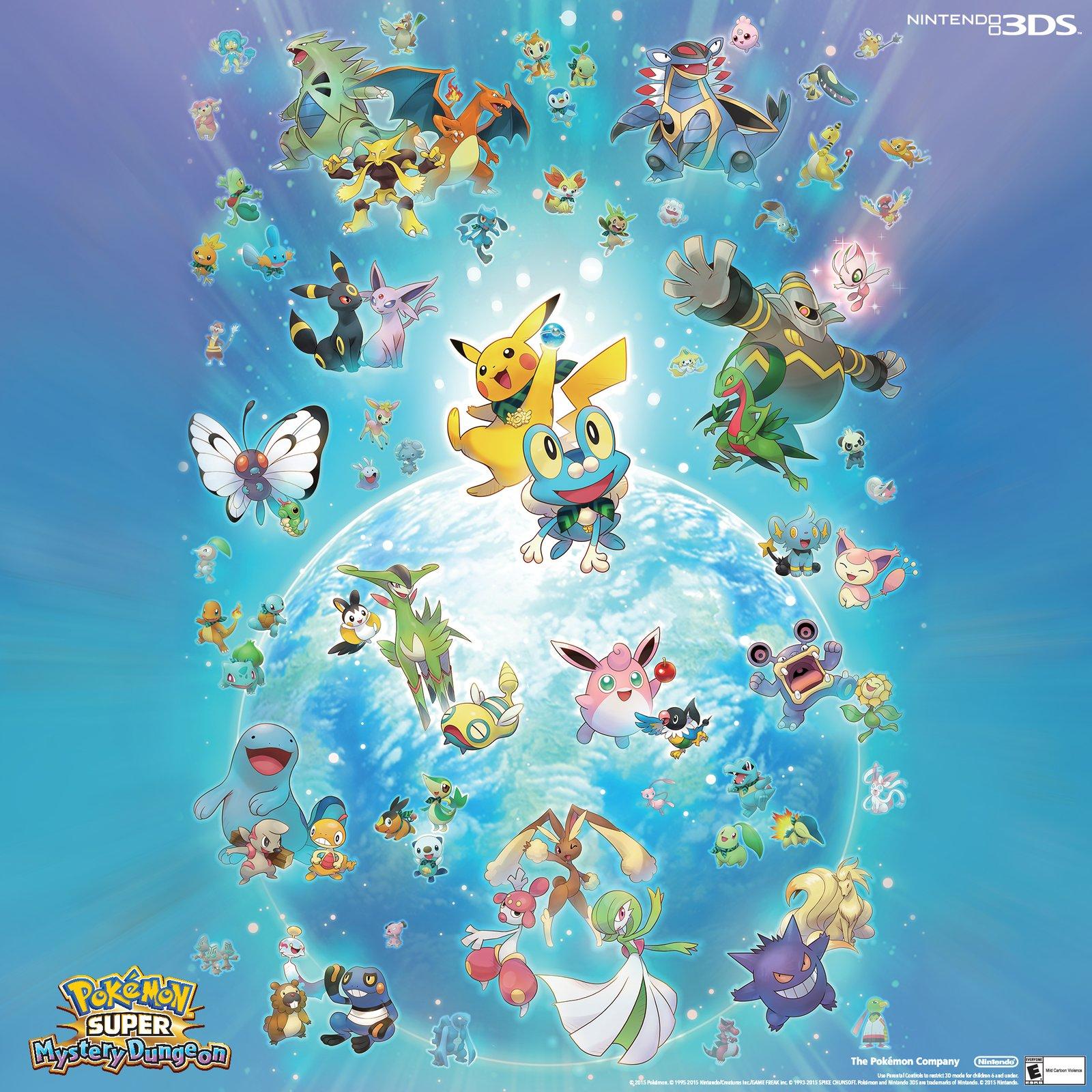 Pokemon Super Mystery Dungeon Desktop Wallpaper Play Nintendo