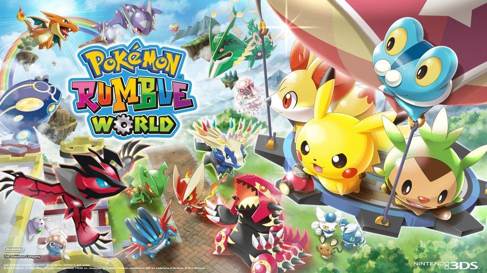 Pokemon Rumble World Desktop Background Wallpaper Play Nintendo