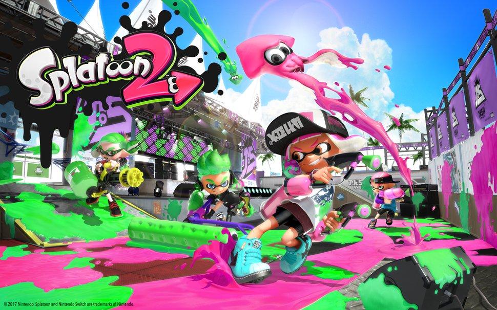 Splatoon 2 Desktop Mobile Background Wallpaper Download Play Nintendo