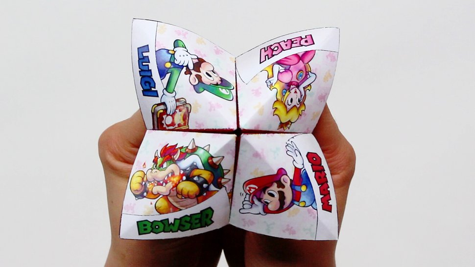 How to Make a Paper Fortune Teller – Boys' Life magazine | 545x970