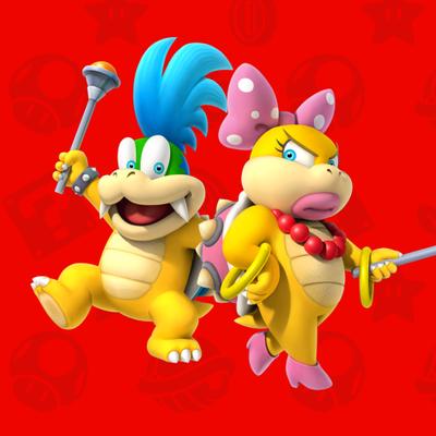 Koopalings Play Nintendo