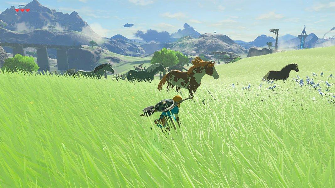 How To Tame Horses In Legend Of Zelda Breath Of The Wild Play Nintendo