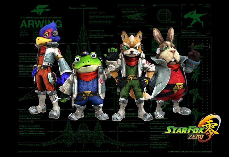 Star Fox Zero Desktop Background Wallpaper Play Nintendo